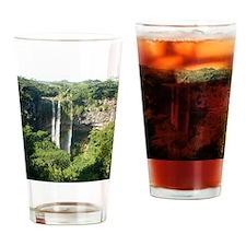 Chamarel Falls Mauritius Cal Drinking Glass