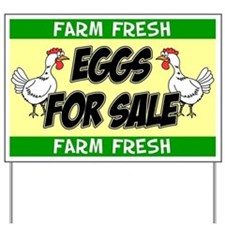 Eggs For Sale Yard Sign