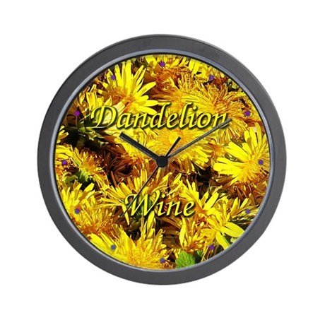 Dandelion Wine Wall Clock 3