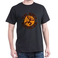 Yo Soy Boricua Brown-Orange T-Shirt