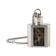Fallen Flask Necklace