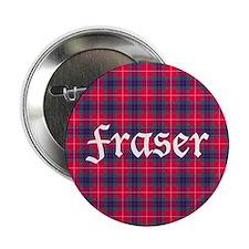 "Tartan - Fraser 2.25"" Button"