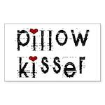 Pillow Kisser Rectangle Sticker