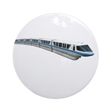 new monorail t shirt copy Round Ornament