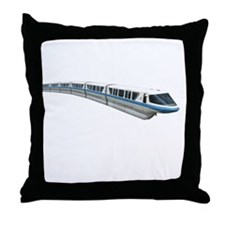 new monorail t shirt copy Throw Pillow