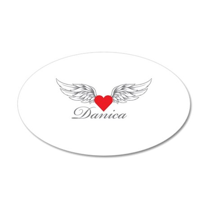 Angel Wings Danica Wall Decal