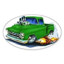 1957 Chevy Pickup Green Decal