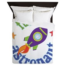 FutureAstronautRocket Queen Duvet