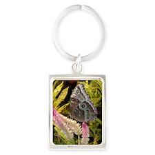 PSTR-blue-butterfly copy Portrait Keychain