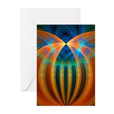 Abstract 192 Greeting Card, Pk 10