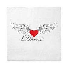Angel Wings Demi Queen Duvet