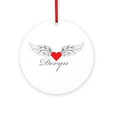 Angel Wings Devyn Ornament (Round)