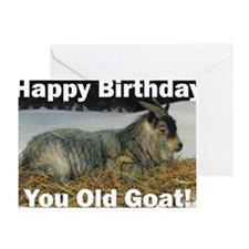 goatbday1 Greeting Card