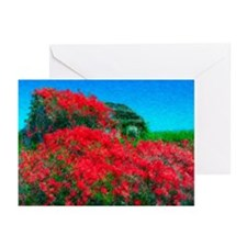 Rose Cabin Greeting Cards, Pk 10