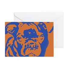 bugg_border Greeting Card
