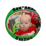 Savannah Smiles Ornament (Round)
