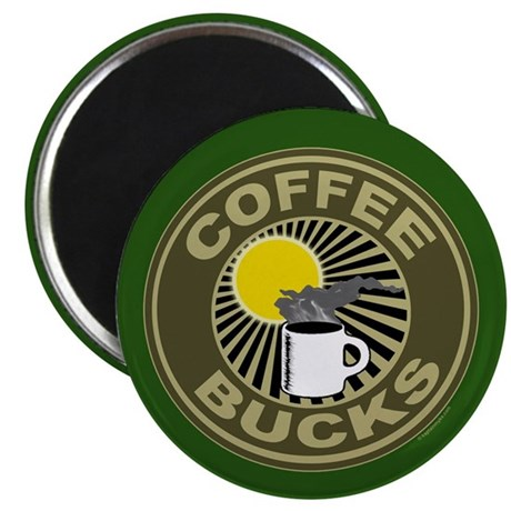 Coffee Bucks Magnet