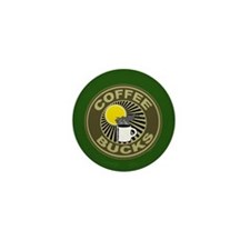Coffee Bucks Mini Button