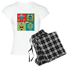 4 robots Pajamas
