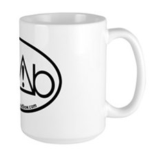 RoundAbout Shirt Pocket Logo - Black Mug