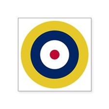 "RAF Roundel - Type A1 Square Sticker 3"" x 3"""