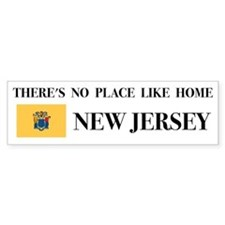 New Jersey Bumper Car Sticker