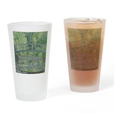 The Waterlily Pond: Green Harmony,  Drinking Glass