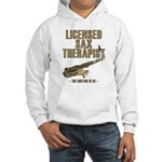 Licensed Sax Therapist Hooded Sweatshirt