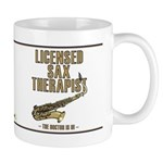 Licensed Sax Therapist Mug