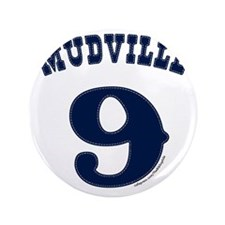 "Mudville9 (blue) 3.5"" Button"