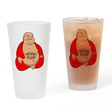 BUDDHA_5 Drinking Glass