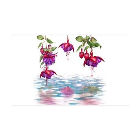 Flower Fuchsia Faerie 35x21 Wall Decal