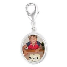 2010_ornament_Brock Silver Oval Charm