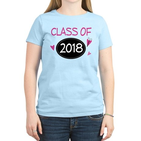 Class of 2018 (butterfly) Women's Light T-Shirt