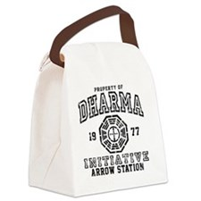 Dharma Arrow Calendar Canvas Lunch Bag