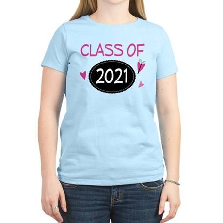 Class of 2021 (butterfly) Women's Light T-Shirt
