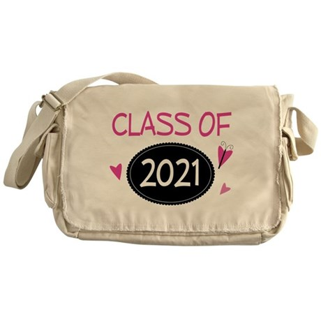 Class of 2021 (butterfly) Messenger Bag