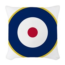 RAF Roundel - Type A2 Woven Throw Pillow