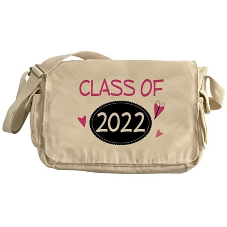 Class of 2022 (butterfly) Messenger Bag