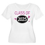 Class of 2025 (butterfly) Women's Plus Size Scoop