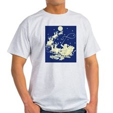 santa-night-ride-poster T-Shirt