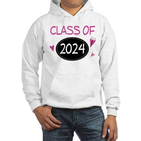 Class of 2024 (butterfly) Hooded Sweatshirt