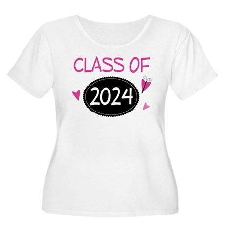 Class of 2024 (butterfly) Women's Plus Size Scoop