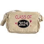 Class of 2024 (butterfly) Messenger Bag