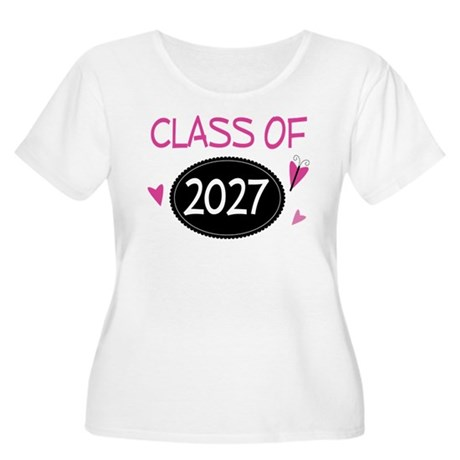 Class of 2027 (butterfly) Women's Plus Size Scoop