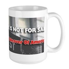 Democracy Not For Sale Bumper Sticker Mug