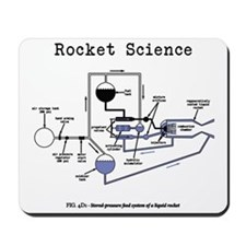 Rocket science Mousepad