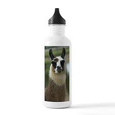 llama1_lframe Water Bottle