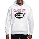 Class of 2028 (butterfly) Hooded Sweatshirt