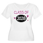 Class of 2028 (butterfly) Women's Plus Size Scoop